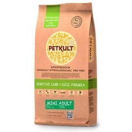 PETKULT   dog    MINI ADULT  lamb/rice - 2kg  - náhradní balení (s prebiotiky)