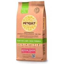 PETKULT   dog   MEDIUM  JUNIOR  lamb/rice - 2 kg