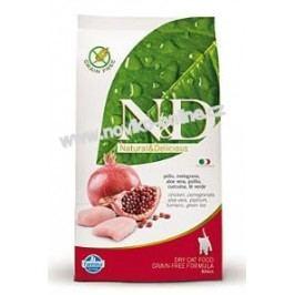 N&D cat GRAIN FREE KITTEN Chicken & Pomegranate  - 10kg