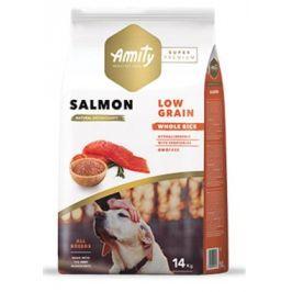 AMITY super premium LG dog  ADULT salmon - 14kg