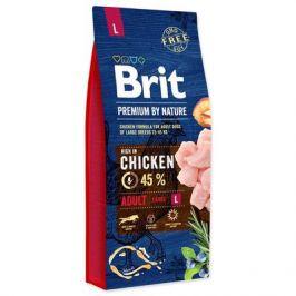 BRIT dog Premium by Nature ADULT L - 15kg
