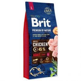 BRIT dog Premium by Nature ADULT L - 2 x 15kg