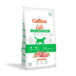 CALIBRA dog LIFE ADULT medium LAMB - 2,5kg
