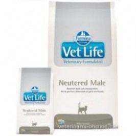 VET LIFE  cat  NEUTERED MALE natural  - 2kg