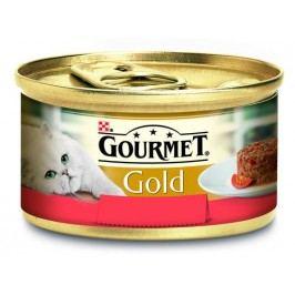 GOURMET GOLD  85g  savoury   - HOVĚZÍ/rajčata