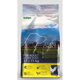 LEADER´S CHOICE dog  ACTIVE chicken - 15kg