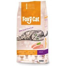 FOXY CAT   STERILIZED  - 15kg