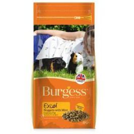 BURGESS excel GUINEA PIG                             - 2kg - EXPIRACE  11/2017
