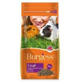 BURGESS excel GUINEA PIG black/oreg                       - 2kg - EXPIRACE  04/2017