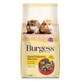 BURGESS HAMSTER DWARF HARVEST                            - 700g (1+1 gratis) expirace 22.10.2016