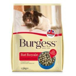 BURGESS RAT royale                                        - 1,5kg - EXPIRACE  11/2017