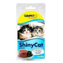 GIMPET SHINYcat  KITTEN tuňák  - 2x70g