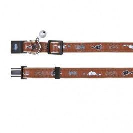 Obojek (trixie) s motivem a rolničkou 32cm