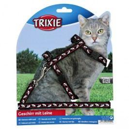 Postroj (trixie) pro kočku MOTIV  1cm/27-46cm