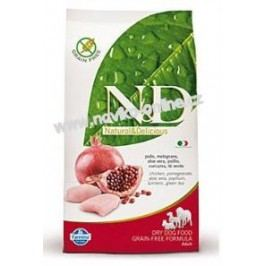 N&D dog GRAIN FREE ADULT MAXI chicken/pomegranate - 12kg