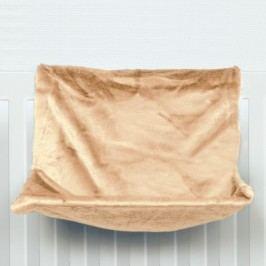 Závěsné Lůžko na topení  Béžové - 48x26x30cm