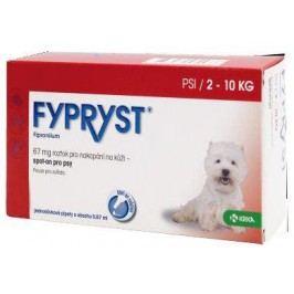 antipar. spot-on - (E) FYPRYST   - S (2-10kg)