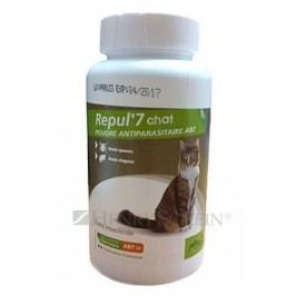 REPUL 7 cat repelentní pudr  - 150g