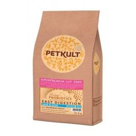 PETKULT  cat  PROBIOTICS  HAIR/skin  - 2KG