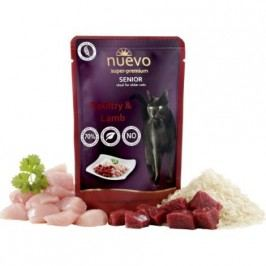NUEVO cat kapsa  SENIOR CHICKEN/lamb  - 85g