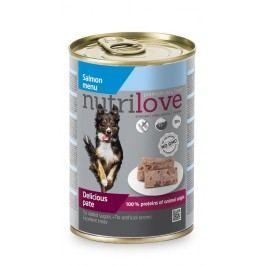 NUTRILOVE pes   konz. LOSOS/paté - LOSOS 400g