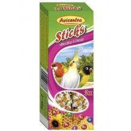 Avicentra TYČKY   MALÝ PAPOUŠEK  2ks - Vitamíny a med