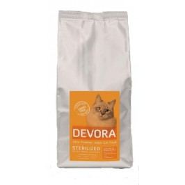 DEVORA cat GF STERILISED krůta/kuře/sleď - 400g