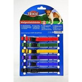 Trixie rozlišovací obojky pro štěňata 1cm/22-35cm  /  6ks - růžová, světle modrá, ...