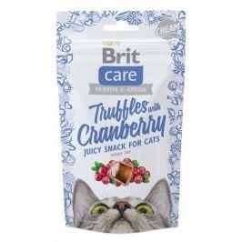 BRIT CARE cat SNACK  TRUFFLES CRANBERRY  - 50g
