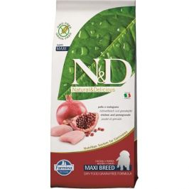 N&D Grain Free Puppy Maxi Chicken & Pomegranate 2,5 kg