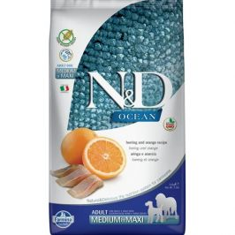 N&D Ocean Adult M/L Herring & Orange 2,5 kg