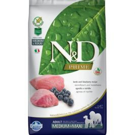 N&D Prime Adult M/L Lamb & Blueberry 2,5 kg