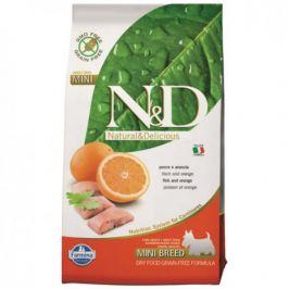 N&D Grain Free Adult Mini Fish & Orange 7 kg