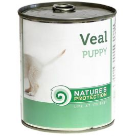 Nature's Protection konzerva Puppy Veal 400 g
