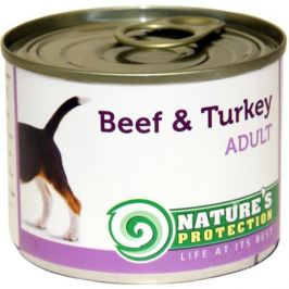 Nature's Protection konzerva Adult Beef&Turkey 200 g