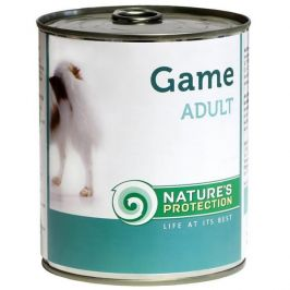 Nature's Protection konzerva Adult Game - zvěřina 400 g