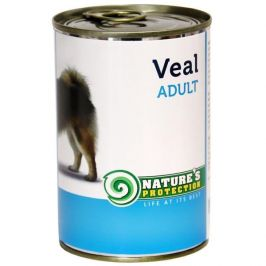 Nature's Protection konzerva Adult Veal 400 g