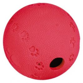 Labyrint-Snacky míč na pamlsky tvrdá guma 7 cm