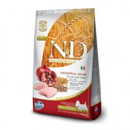 N&D Low Grain Adult Mini Chicken & Pomegranate 7 kg