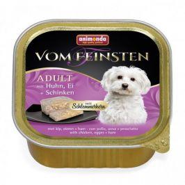 VomFeinsten CORE kuřecí, vejce + šunka pro psy 150 g