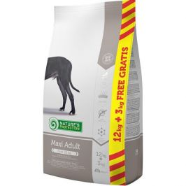 Nature's Protection Dry Adult Maxi 12 kg + 3 kg