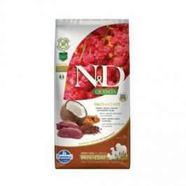 N&D Grain Free Quinoa Skin&Coat Venison & Coconut 7 kg