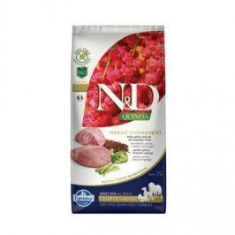 N&D Grain Free Quinoa Weight Mngmnt Lamb & Broccoli 7 kg