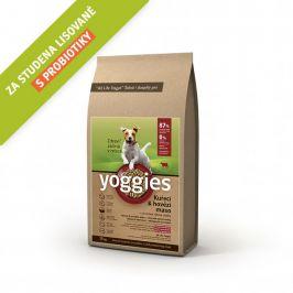 Yoggies Kuřecí a hovězí maso 15 kg