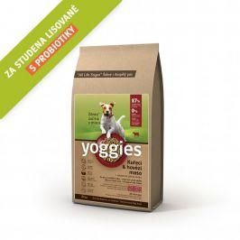 Yoggies Kuřecí a hovězí maso 20 kg