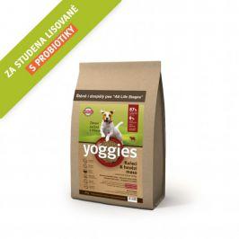 Yoggies MINI Kuřecí a hovězí maso 4 kg