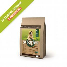 Yoggies Jehněčí a bílá ryba 1,2 kg