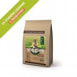 Yoggies Jehněčí a bílá ryba 4 kg