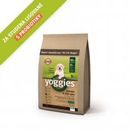 Yoggies MINI Jehněčí a bílá ryba 1,2 kg