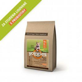 Yoggies Active kachna a zvěřina 4 kg
